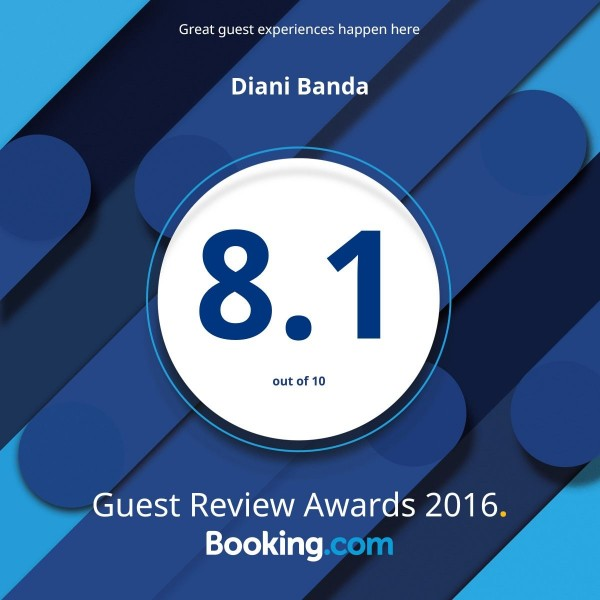 So proud of our fantastic review score on @bookingcom! #guestsloveus